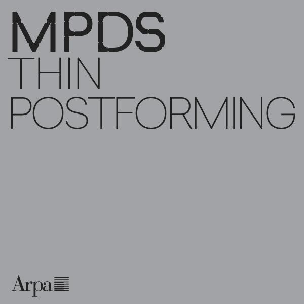 MPDS Thin Postforming