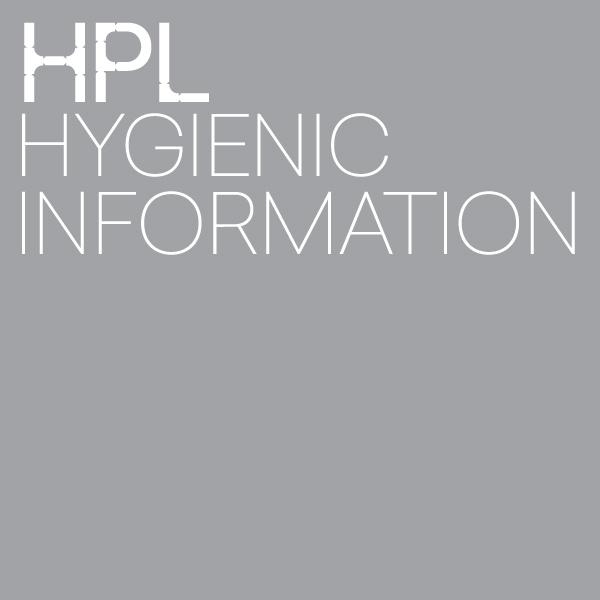 HPL Hygienic Information