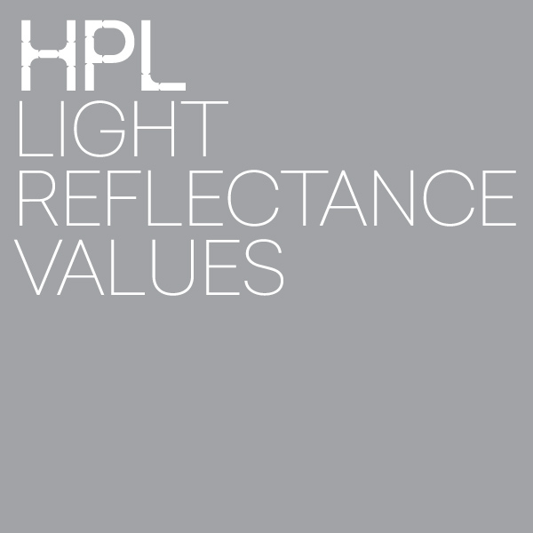 HPL light reflectance values
