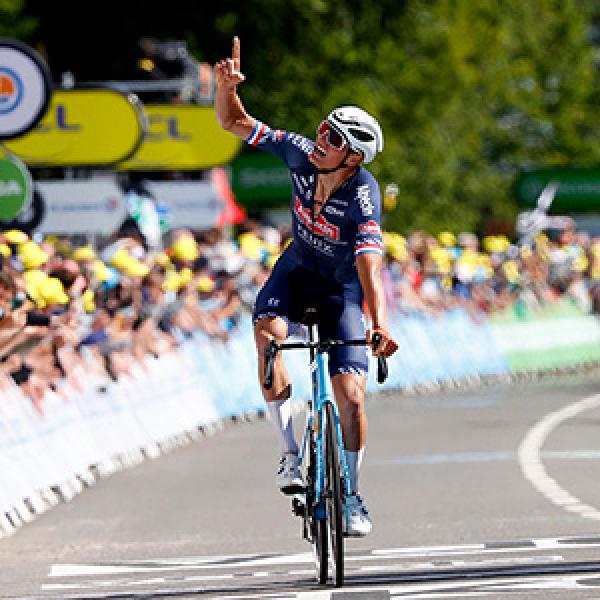 Mathieu van der Poel wins Stage 2 of ...