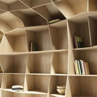 Bookcase in Olmo Mercurio Alevè