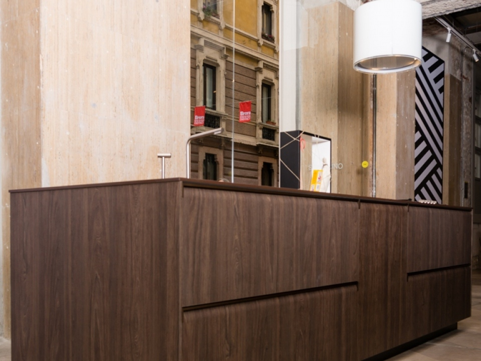 Warm shades for a kitchen in Alevè | Arpa Industriale