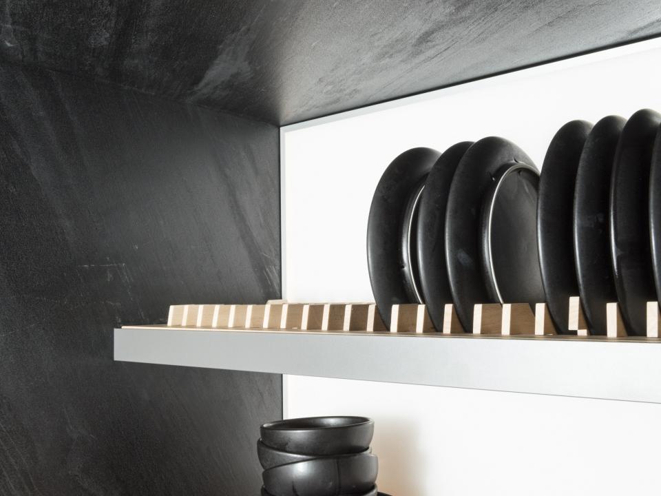 kitchen cabinet in HPL